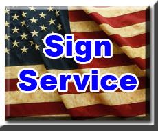 Sign Service Link